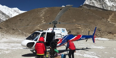 Everest Base Camp Trek, 1 Way By Helicopter